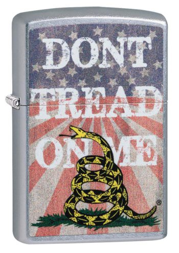 Comprar mechero Zippo online Don't Tread On Me en España