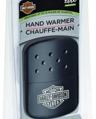 Black Harley Davidson handwarmer in blister pack