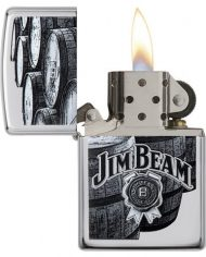 JIM BEAM BARRELS LIGHTER.